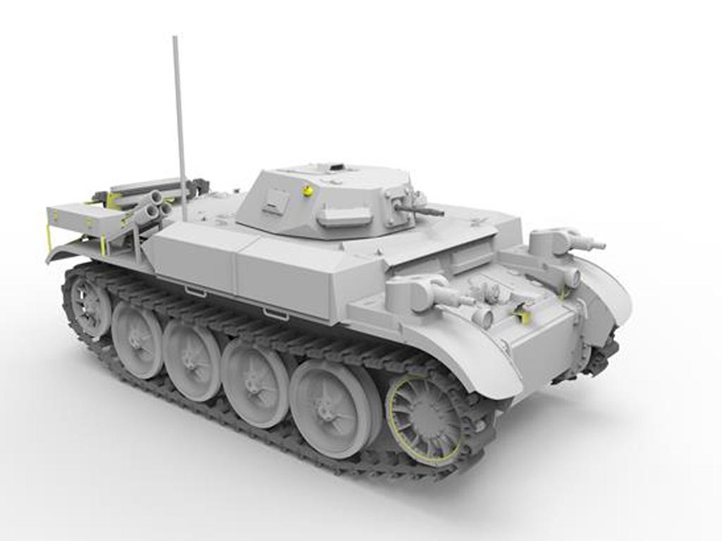 Panzerkampfwagen II Flamm Ausf.E (Vista 4)