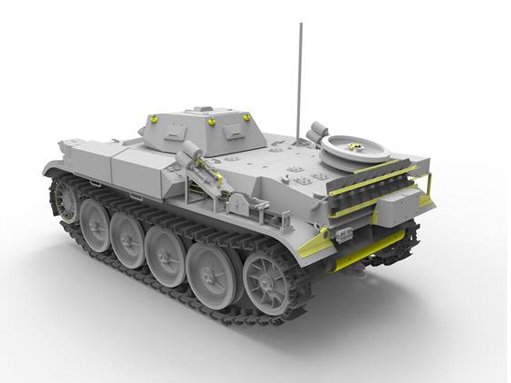 Panzerkampfwagen II Flamm Ausf.E (Vista 5)