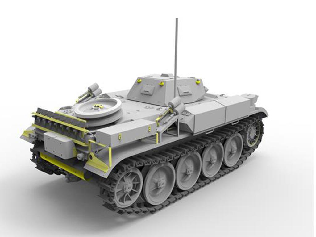 Panzerkampfwagen II Flamm Ausf.E (Vista 6)