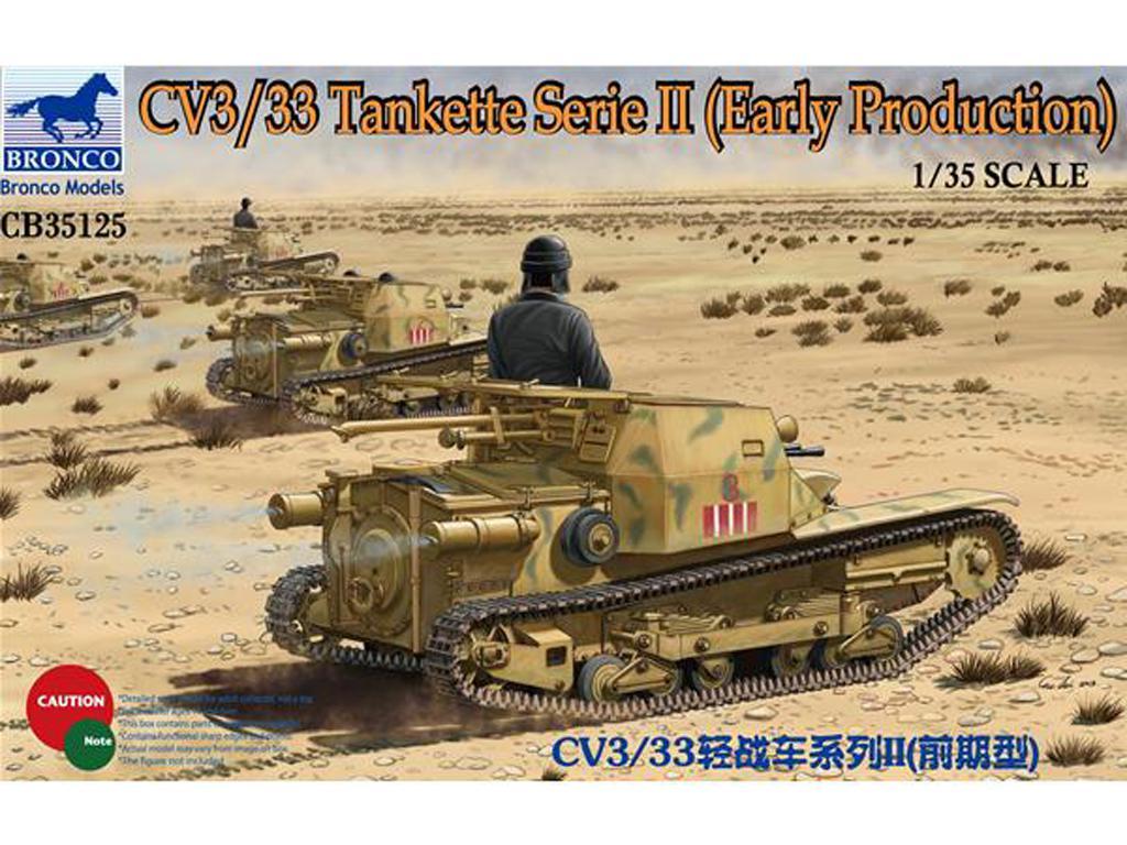 CV3/33 Tankette Serie II  (Vista 1)
