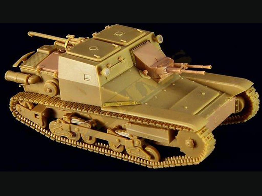 CV3/33 Tankette Serie II  (Vista 5)