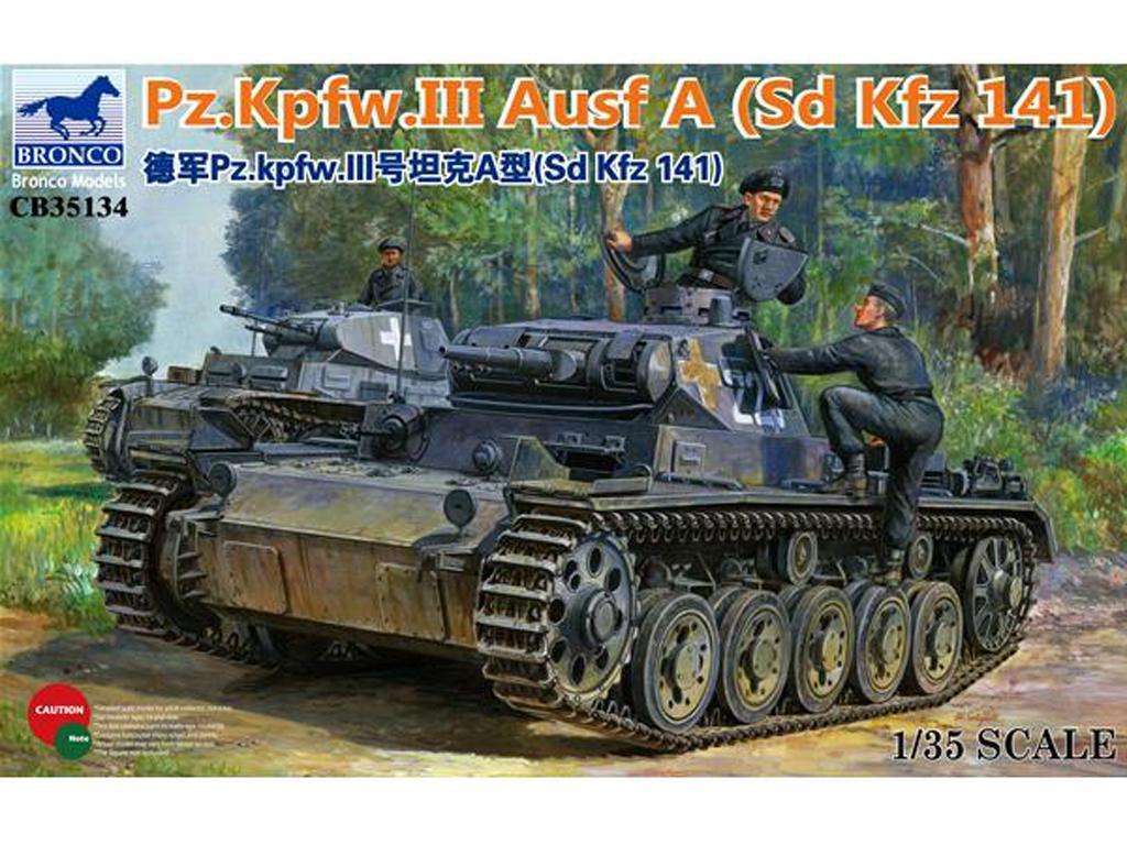 Panzerkampfwagen III Ausf. A (Vista 1)