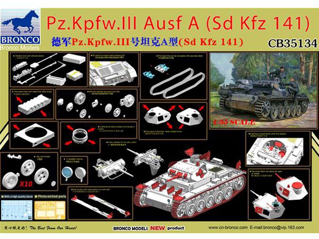 Panzerkampfwagen III Ausf. A (Vista 2)