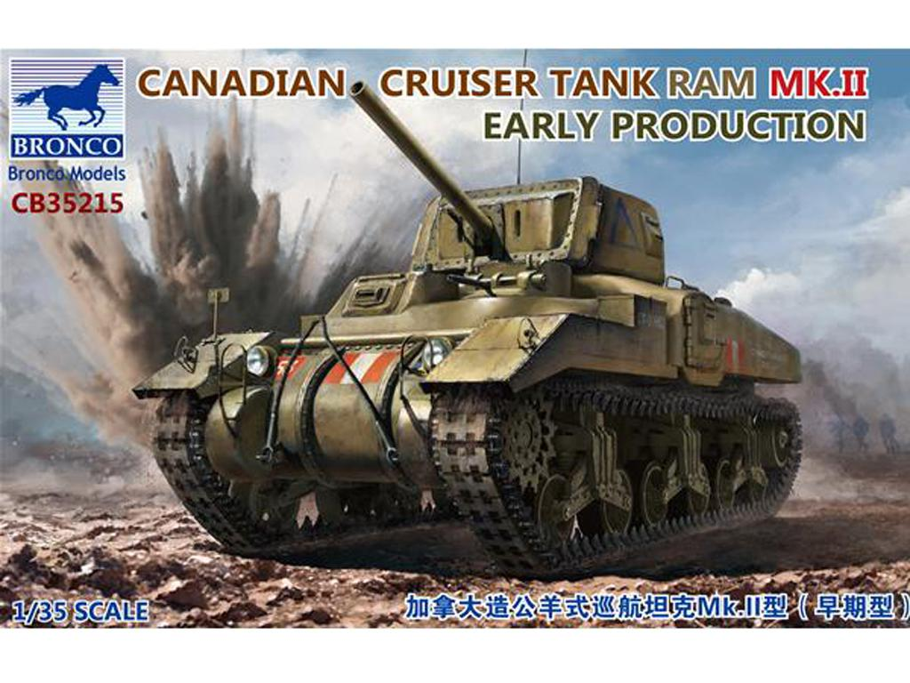 Canadian Cruiser Tank Ram MK.II Early Production (Vista 1)