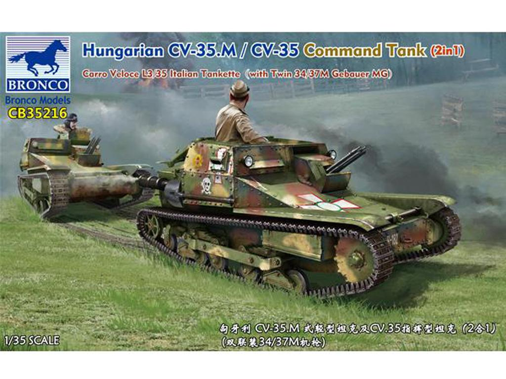 Hungarian CV-35.M/CV-35 Command Tank (Vista 1)