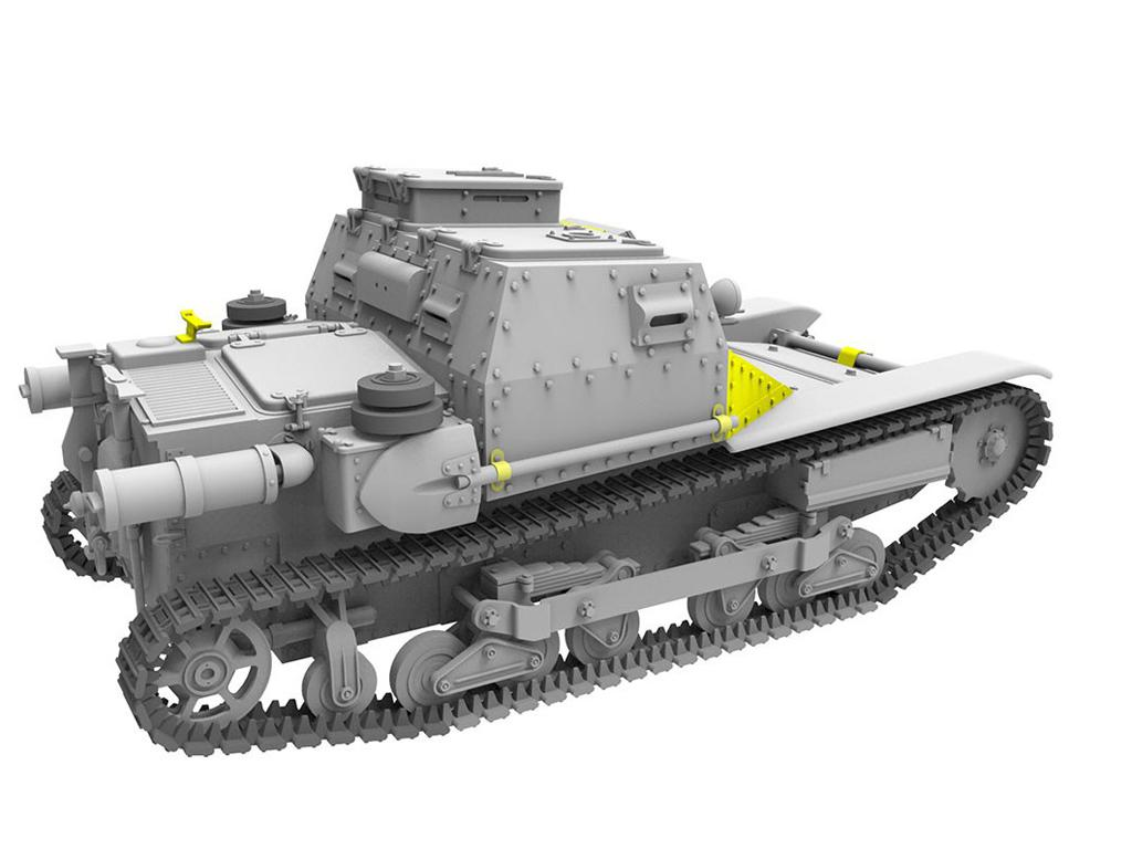 Hungarian CV-35.M/CV-35 Command Tank (Vista 5)
