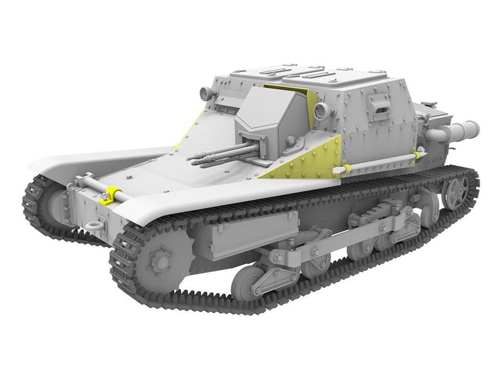 Hungarian CV-35.M/CV-35 Command Tank (Vista 6)
