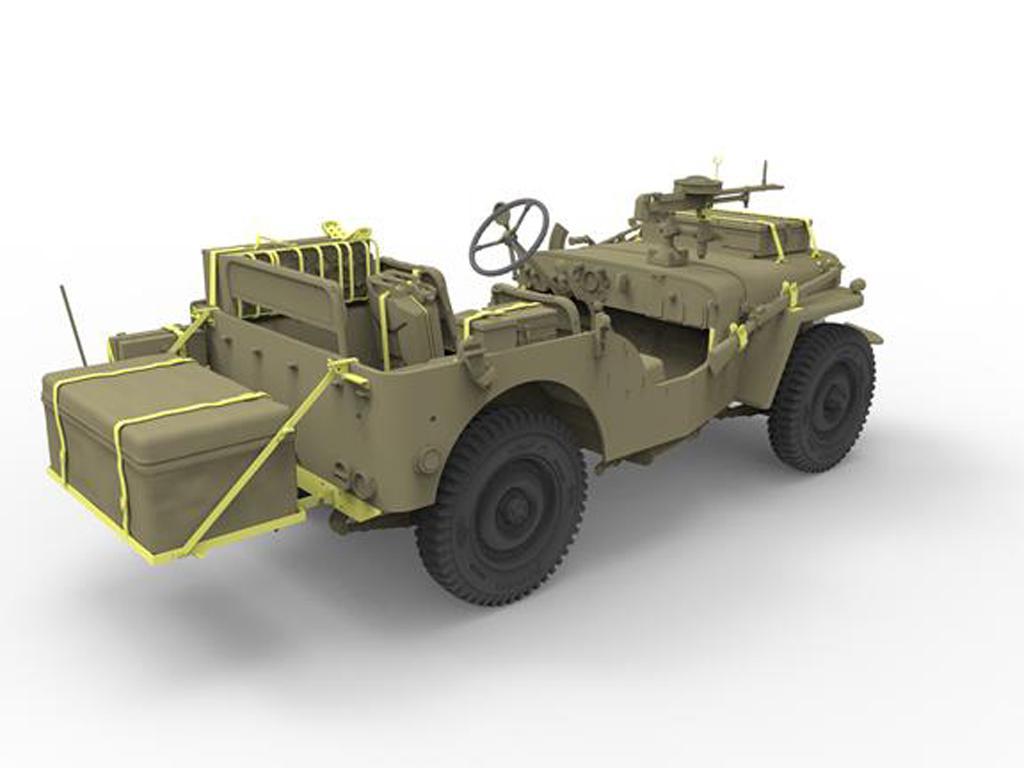 British Recce and Signals Light Truck (2 Kits ) with Crews (Vista 5)