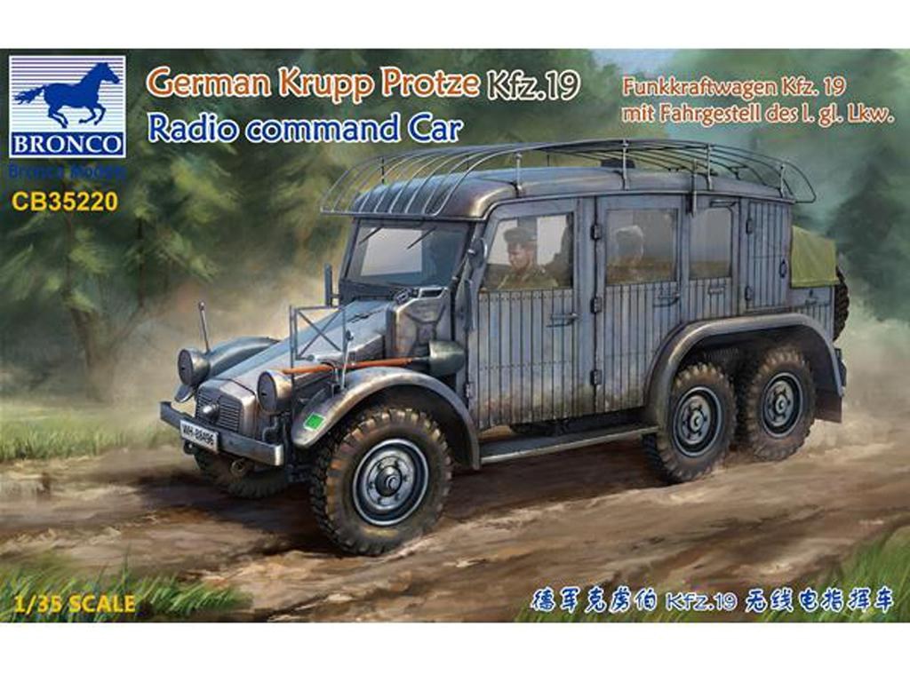 Krupp Protze Kfz.19 Radio command Car (Vista 1)