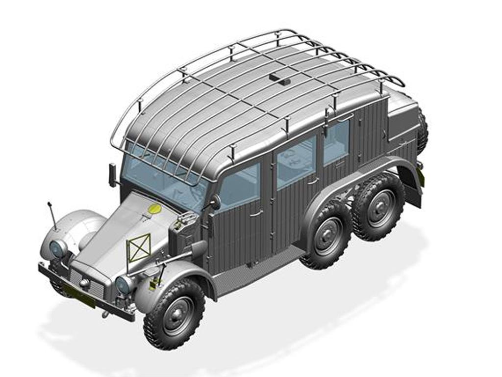 Krupp Protze Kfz.19 Radio command Car (Vista 3)