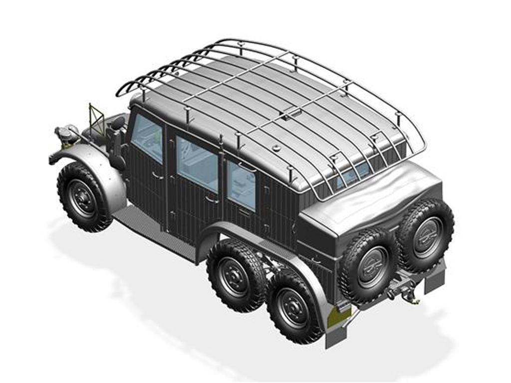 Krupp Protze Kfz.19 Radio command Car (Vista 4)