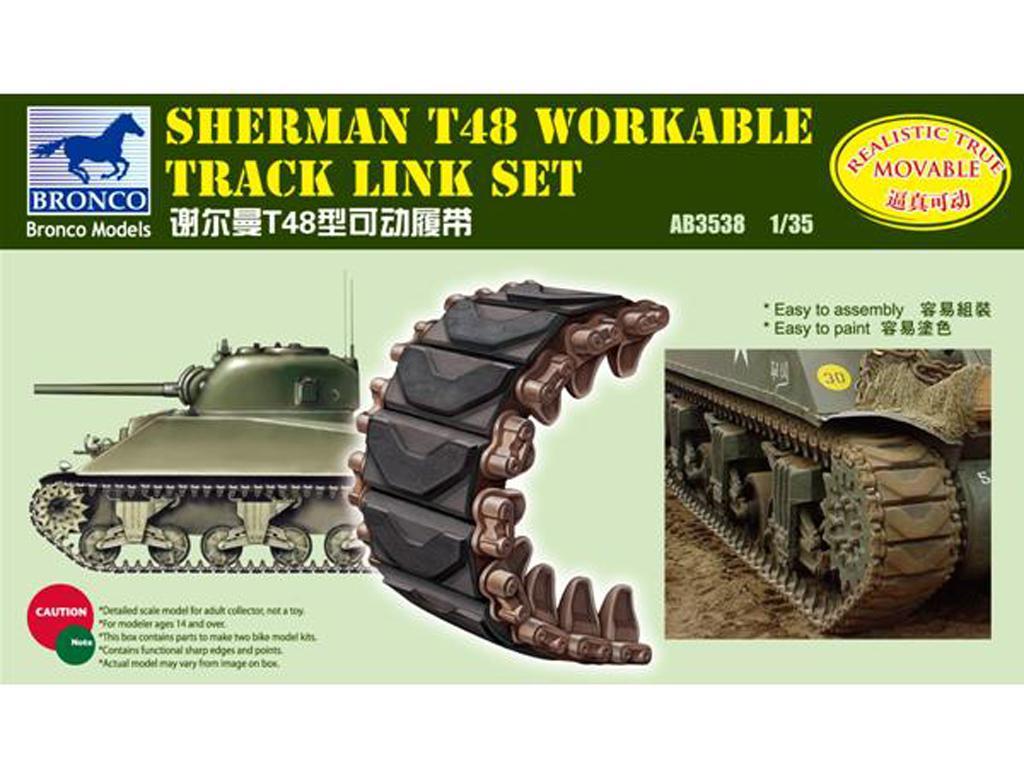 Cadenas Sherman Mod T48 (Vista 1)