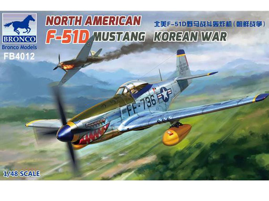 North American F-51D Mustang Korean War (Vista 1)