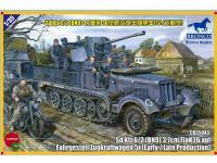 Sd.kfz 6/2 5t 3.7cm Flak36 half-track ( (Vista 2)