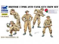 17pdr Anti-Tank Gun Crew set (Vista 2)