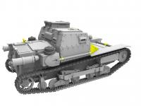Hungarian CV-35.M/CV-35 Command Tank (Vista 11)
