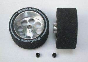 Rueda esp. 27.5x13mm, eje 3mm, llanta 21  (Vista 1)