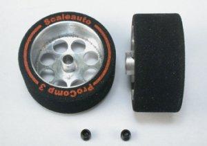 Rueda esp. 27.5x13mm, eje 3mm. llanta 21  (Vista 1)