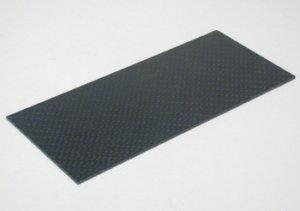 Placa fibra carbono 140x62x1mm.  (Vista 1)