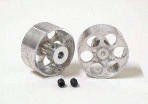 Llanta aluminio 21.5x10mm, eje 3mm., dis  (Vista 1)