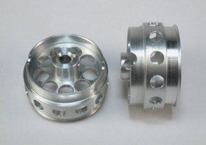 Llanta aluminio 21x11mm., eje 3mm.  (Vista 1)