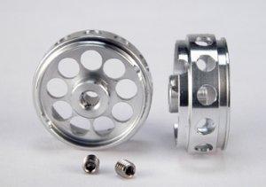 Llanta aluminio 21x9mm., eje 3mm. Profil  (Vista 1)