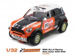 MINI ALL4 Racing Dakar 2012 #309  (Vista 1)