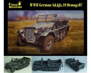 German Sd. Kfz. 10 Halftrack   (Vista 1)
