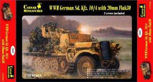 German Sd. Kfz.10/4 with 20mm Flak 30  (Vista 1)