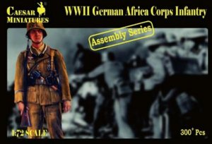German Africa Corps Infantry   (Vista 1)