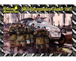 Granaderos Panzer, II Guerra Mundial (Ja - Ref.: CAMI-B001