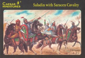 Saladin con Caballeria Sarracena  (Vista 1)