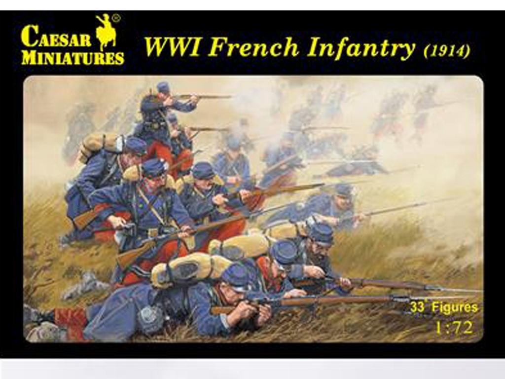 Infanteria Francesa WWI 1914  (Vista 1)