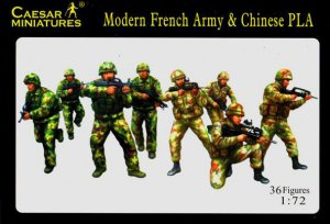 Modern French Army with Chinese PLA  (Vista 1)
