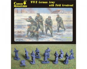WWII German Army with Field Greatcoat  (Vista 1)