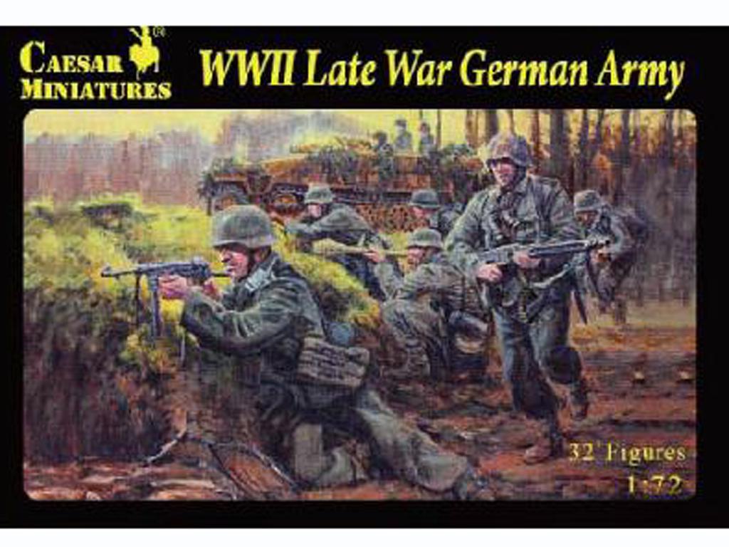WWII Late War German Army  (Vista 1)