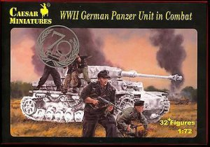 German Panzer Unit in Combat  (Vista 1)