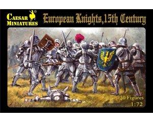 Caballeros europeos, siglo XV   (Vista 1)