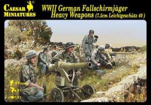 German Fallschirmjager Heavy Weapons  (Vista 1)