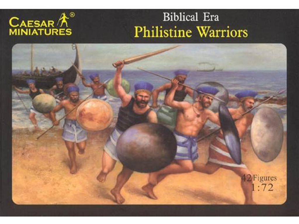 Guerreros bíblicos Filisteos (Vista 1)