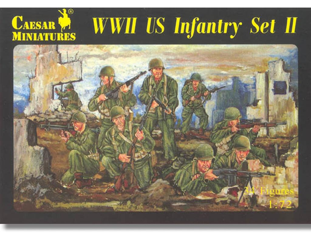 Infantería USA Segunda Guerra Mondial (Vista 1)