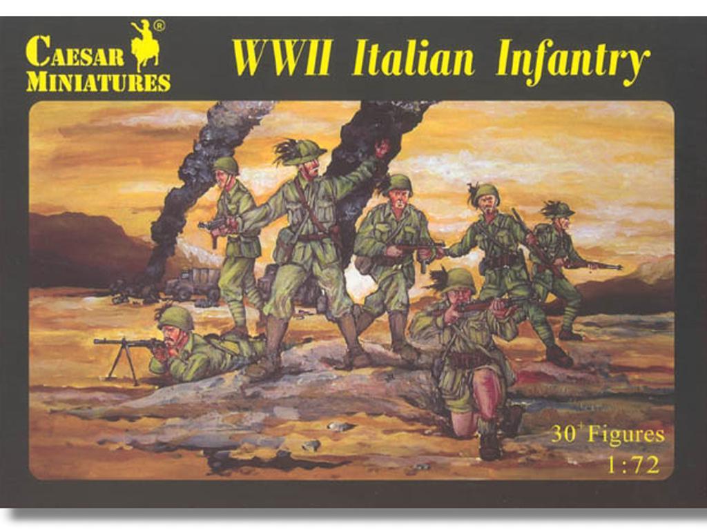 Infantería italiana Segunda Guerra Mundi (Vista 1)
