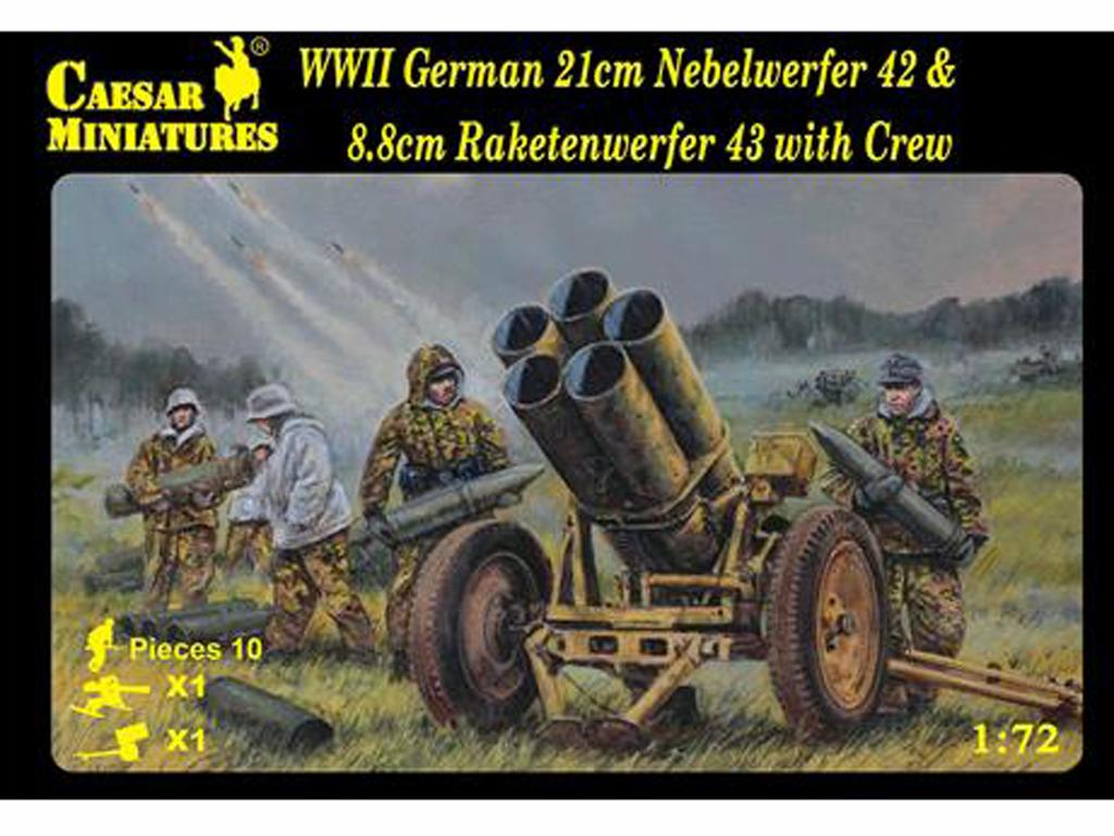 German 21cm Nebelwerfer 42 and 8.8cm Rak (Vista 1)