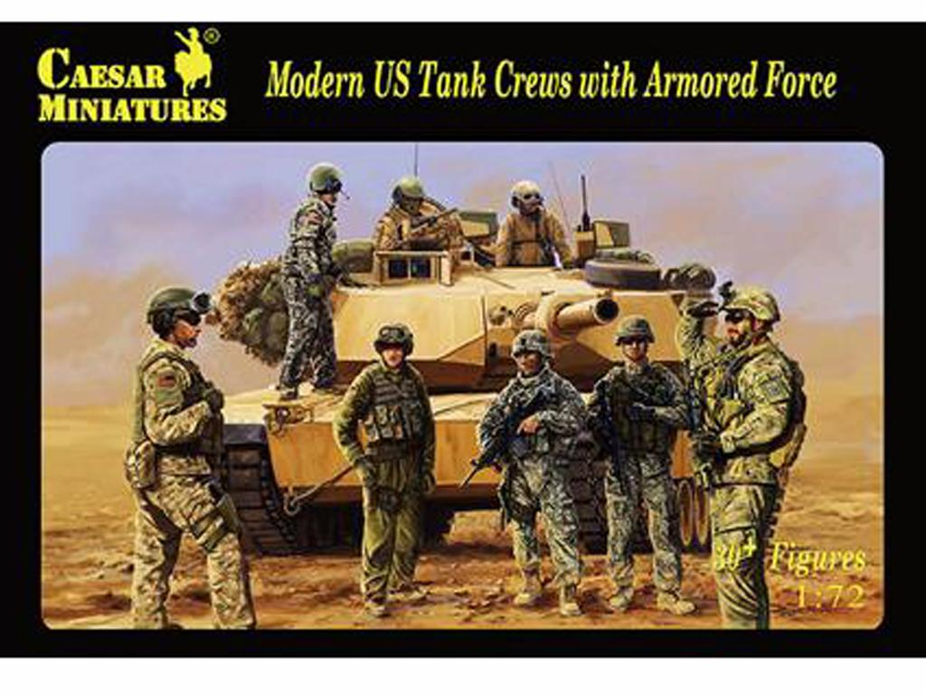 Tripulación de tanques de EE.UU. (Vista 1)