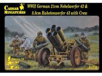 German 21cm Nebelwerfer 42 and 8.8cm Rak (Vista 2)