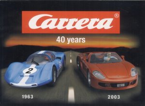 Catálogo Carrera 2003   (Vista 1)
