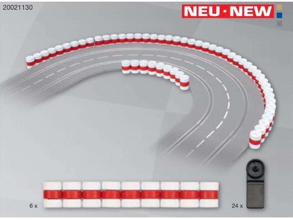 Valla de neumáticos (Vista 4)