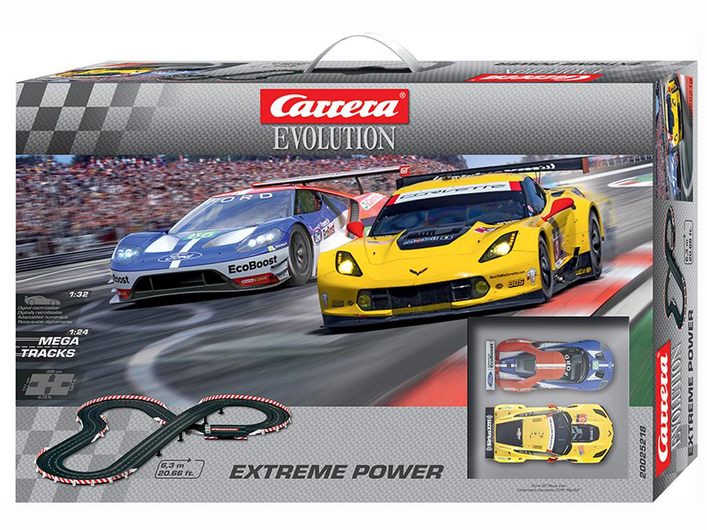 Circuito Extreme Power - Corvette C7R vs Ford GT (Vista 1)