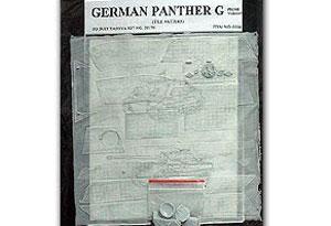 Zimmerit para Panther G Tile Pattern - Ref.: CAVA-0104