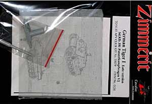 Zimmerit para Tiger I - Ref.: CAVA-0130